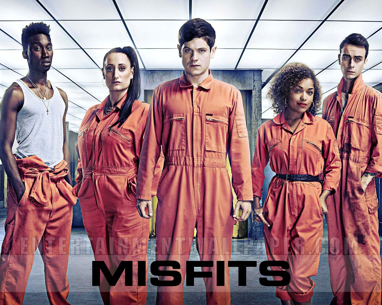 Misfits Series 3 - Misfits E4 Wallpaper (33128409) - Fanpop