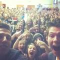 Mobbed at our old school today! Lumen Christi - damian-mcginty photo