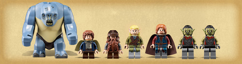 Moria Fight Lego Collection