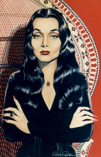 Morticia - garagem Art (by minkshmink on pinterest)