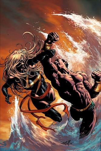 Ms. Marvel vs Namor