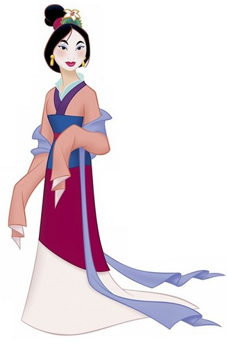 mulan matchmaker dress