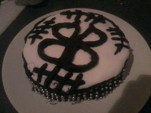 My BVB Cake I made