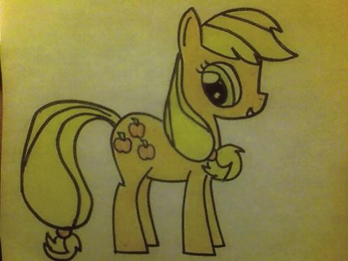 My Drawing Of アップルジャック, applejack