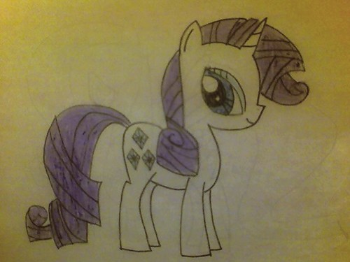 My Drawing Of Rarity