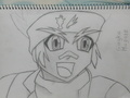 My drawing of Gingka(Zero-G coming soon) - metal-fight-beyblade fan art