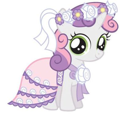 My little poni, pony friendship is magic :)