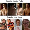 Mystic Falls boys - the-vampire-diaries-tv-show photo