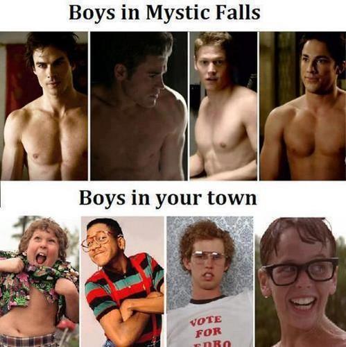 Mystic Falls boys