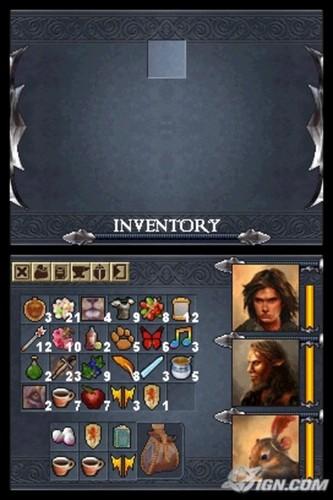Narnia: Prince Caspian - DS screenshot