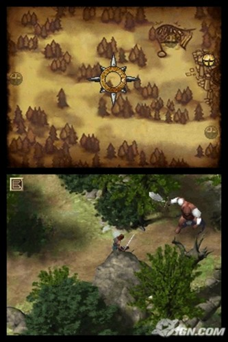 Narnia: Prince Caspian - DS screenshot