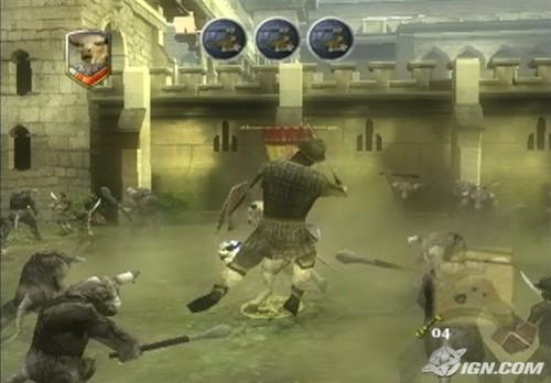 Narnia: Prince Caspian - PS2 screenshot