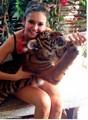 Nina and a tiger <33