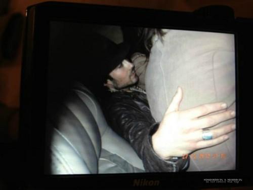 Nina on Ian's lap
