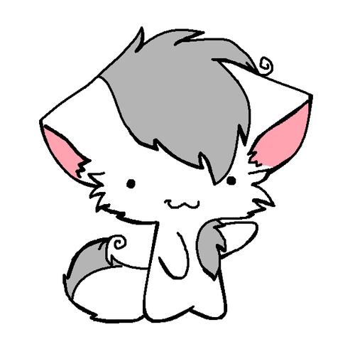 NinjaGo Sensei Wu Chibi kitty