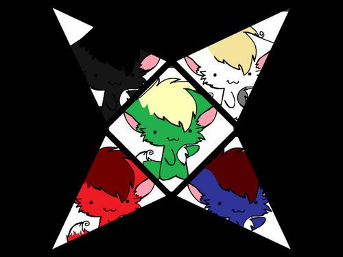 Ninjago Chibi Kitties.
