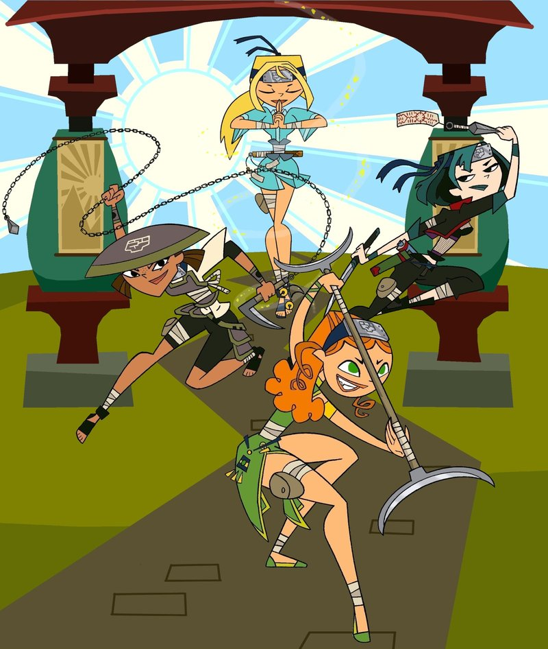 Ninjas Total Drama Island Fan Art