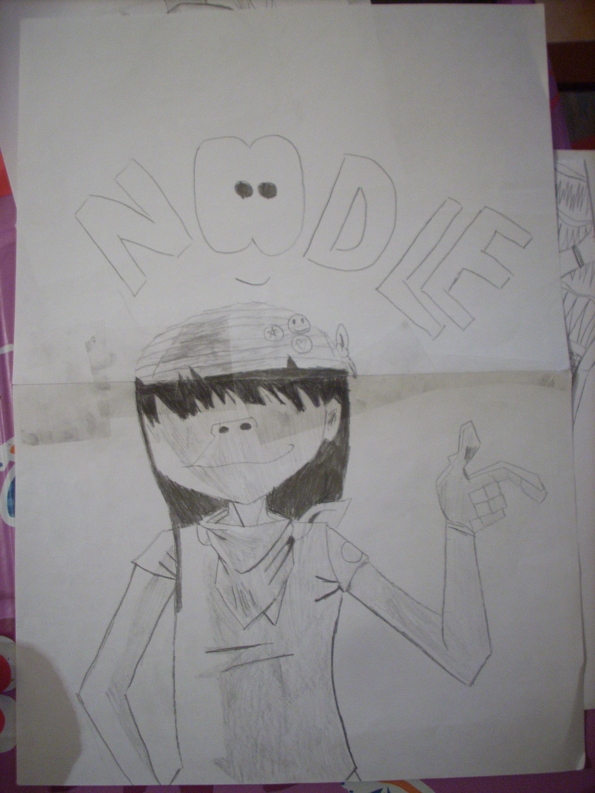 Noodle dirty harry - Gorillaz Fan Art (33113125) - Fanpop