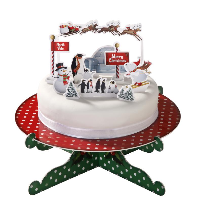 Christmas Cake Fan Over