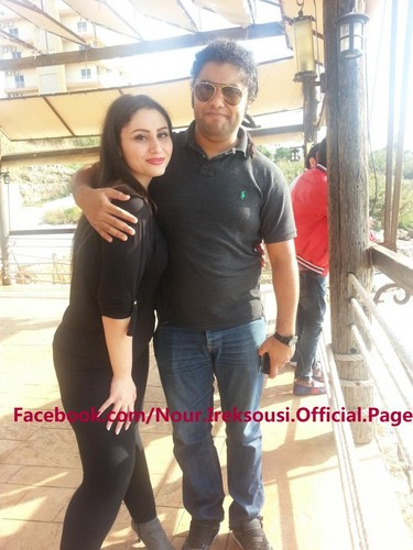 Nour with fareed