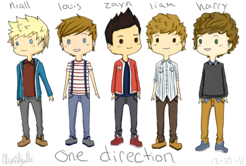 One Direction Animated