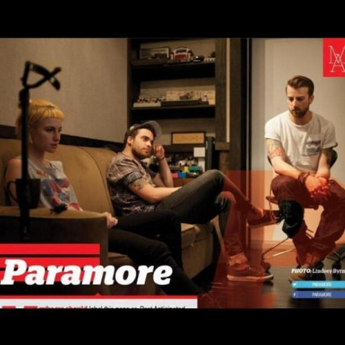Paramore on the newest issue of Alternative Press.