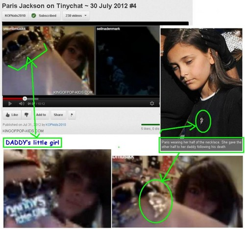 Prince Michael Jackson wallpaper titled Paris Jackson Daddy's Little Girl