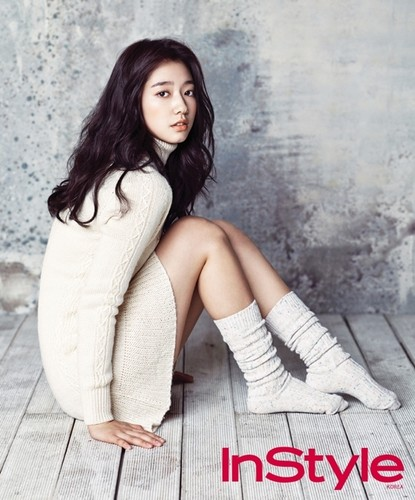 Park shin hye in 2013 Jan Instyle magazine