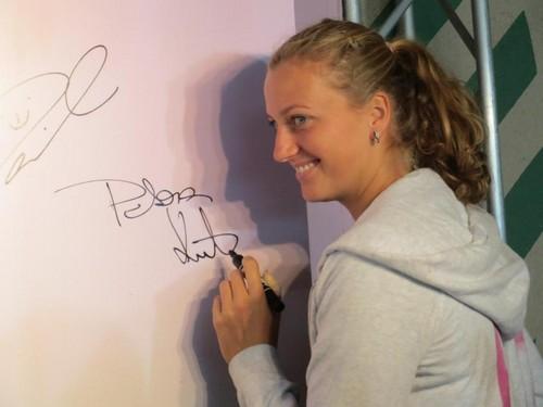 Petra Kvitova autograph
