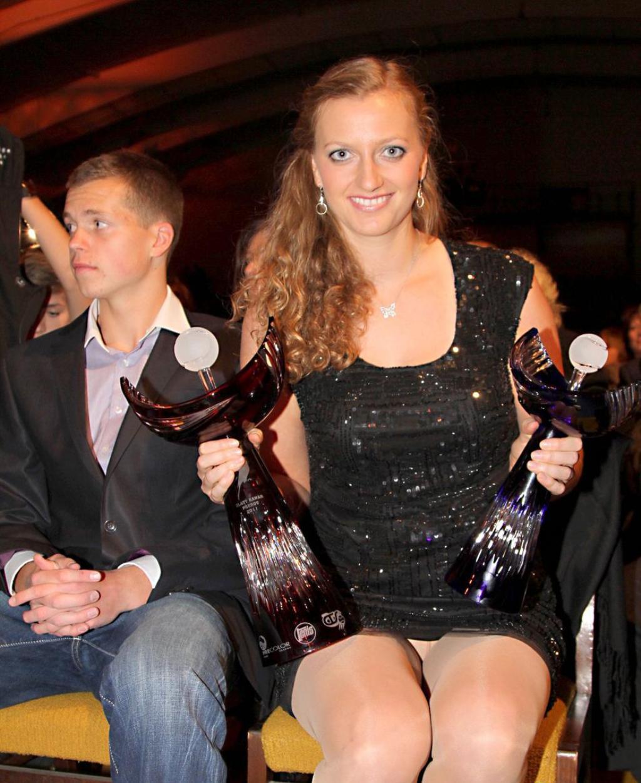 Petra Kvitova showed again crotch