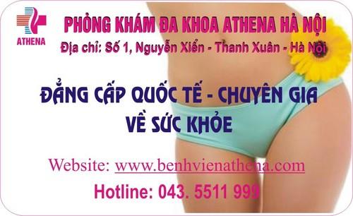 Phòng khám đa khoa Athena chuyên chữa trị vô sinh nam, vô sinh nữ