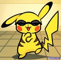 Pikachu Gangnam Style - pokemon fan art