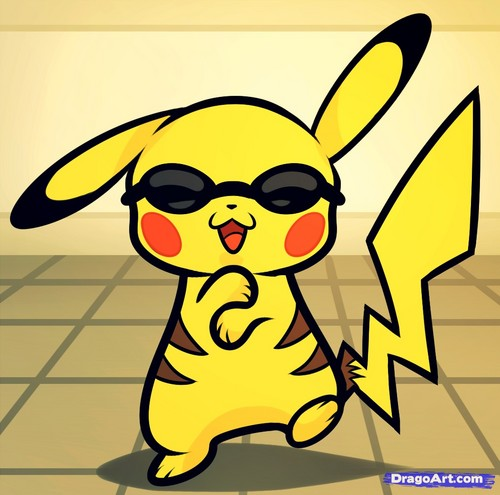 Pokémon achtergrond possibly containing anime called Pikachu Gangnam Style