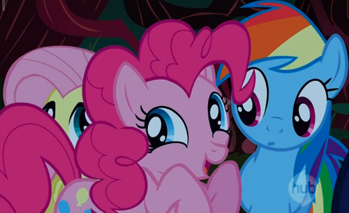 Pinkie Pie and cầu vồng Dash