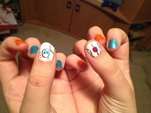 Portal nails :D