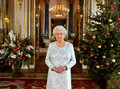 queen Elizabeth II's 2012 navidad Broadcast In 3D At Buckingham Palace