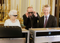 Queen Elizabeth II's 2012 Weihnachten Broadcast In 3D At Buckingham Palace