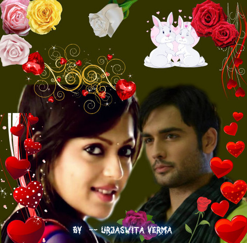 Madhubala- ek ishq ek junoon fond d'écran containing a bouquet called RISHBALA