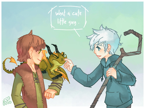 ROTG vs How To Train Your Dragon