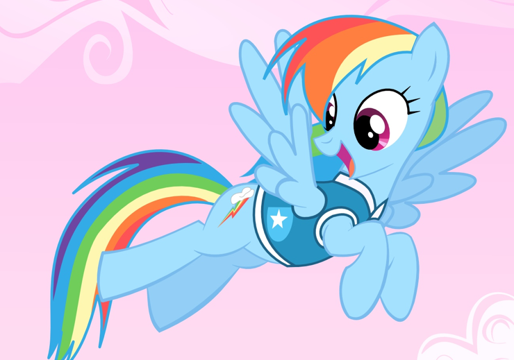 My little pony friendship is magic rainbow dash baby