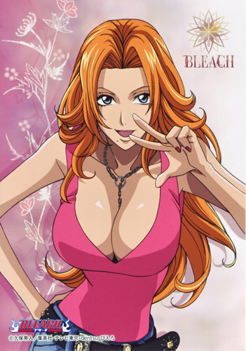 anime bleach wallpaper with anime called Rangiku
