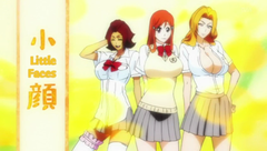 Rangiku,orihime and haienko