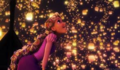 Rapunzel Watching The Lanterns