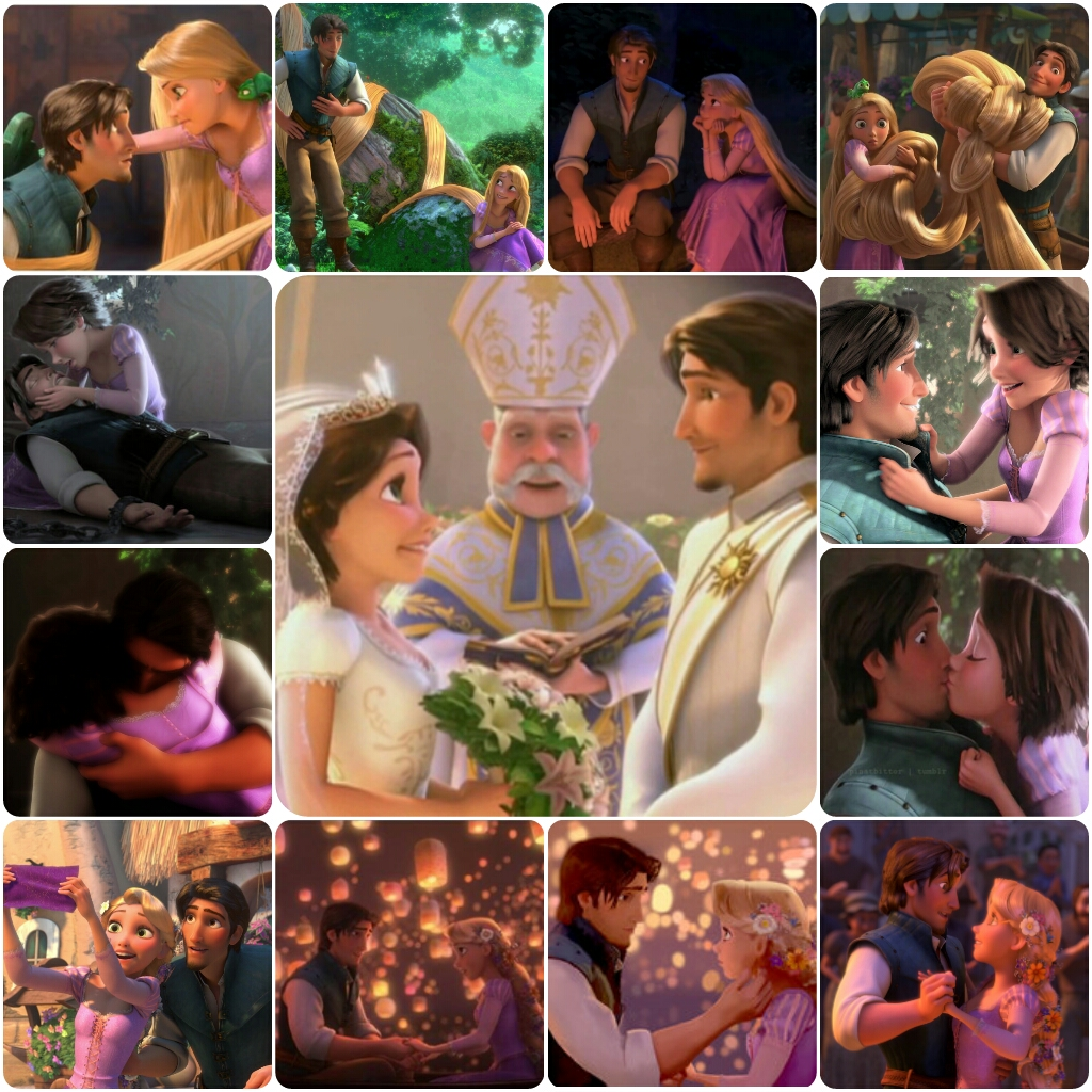 Rapunzel and Eugene Moments