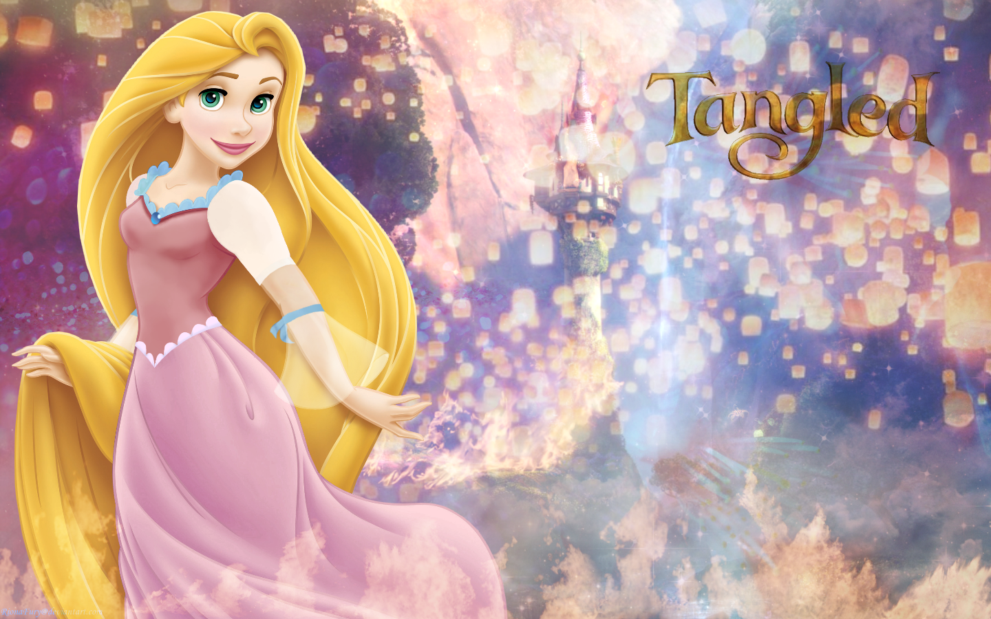 Tangled images Rapunzel's Tower HD wallpaper and background photos ...