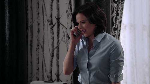 La Méchante Reine/Regina Mills fond d'écran possibly containing a business suit and a well dressed person titled Regina 2x3