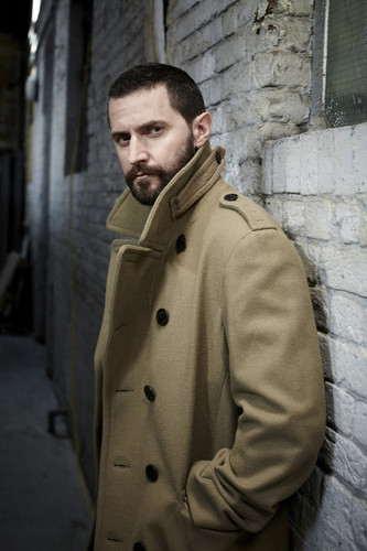 Richard Armitage kertas dinding containing a trench coat, a burberry, and a kacang, pea jaket entitled Richard Armitage | Project Magazine 2011