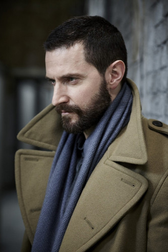 Richard Armitage Обои possibly containing a trench пальто and a гороховый, горох куртка entitled Richard Armitage | Project Magazine 2011