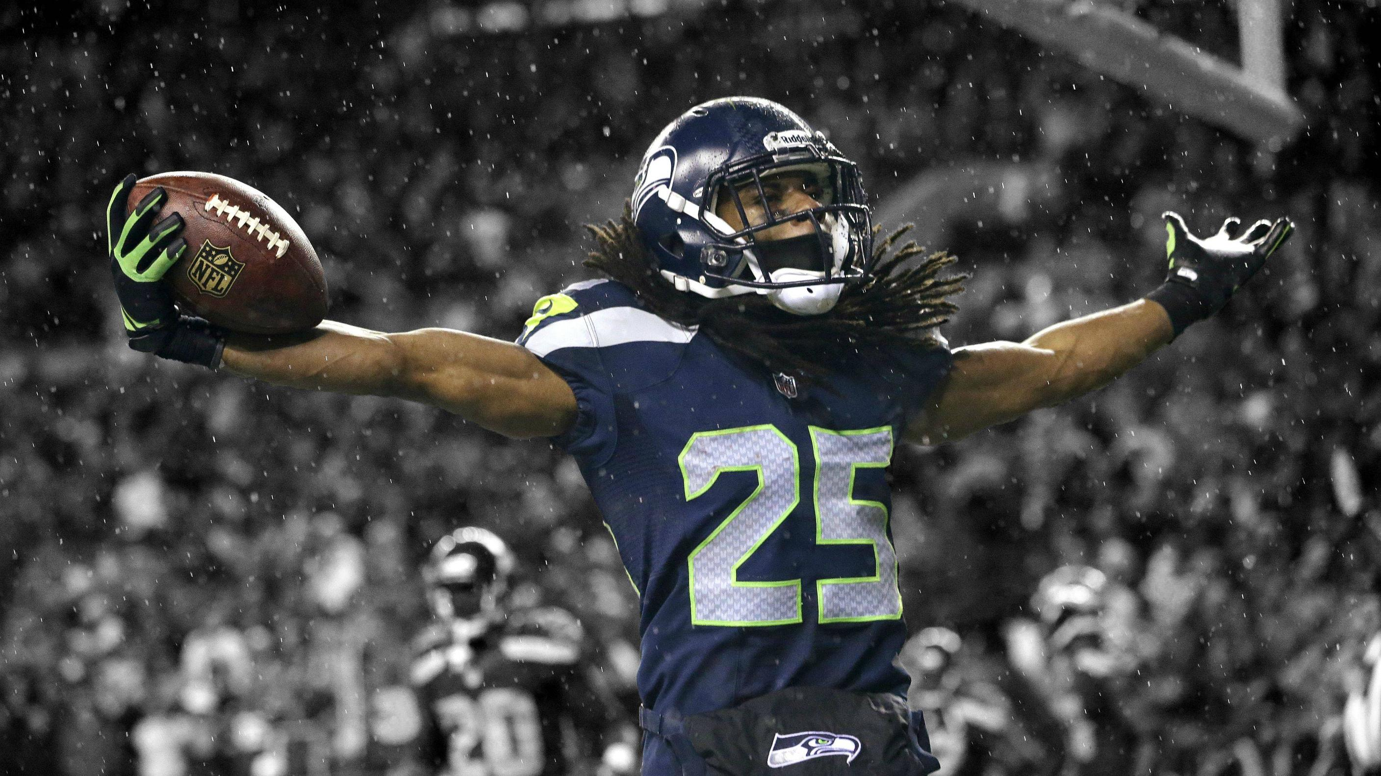 Richard Sherman Seahawks 바탕화면