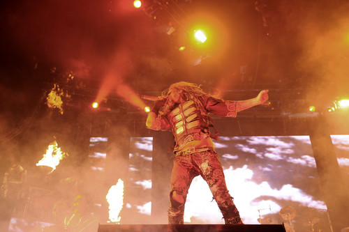 Rob Zombie perform at O2 Arena in Luân Đôn (2012.11.26.)